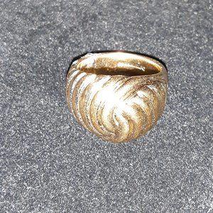 vintage 14Kt GE Dome Ring Size 6